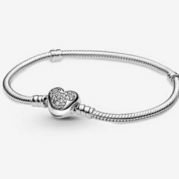 💗Pandora Mickey Mouse Snake Chain Bracelet